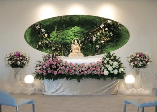 法要室・客殿・参拝室 祭壇の写真