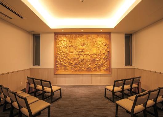 法要室・客殿・参拝室の一部